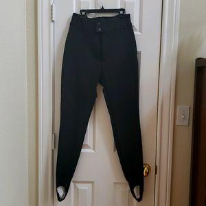 OSSI Ski Wear Women's Black Pants Sz 10 long